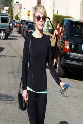 Julianne Hough All in Black - Leaves the Gym in Los Angeles - April 2014