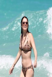 Julie Gonzalo Bikini Candids - Miami Beach, April 2014
