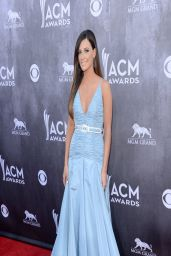 Kacey Musgraves in Miu Miu Gown - 2014 Academy Of Country Music Awards in Las Vegas