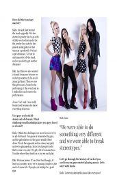 Kaila Yu, Jamie Scoles, Kiki Wongo & Katt Lee of Punk Band Nylon Pink – Amped Magazine (Asia) April 2014 Issue