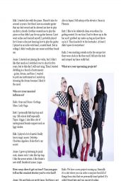 Kaila Yu, Jamie Scoles, Kiki Wongo & Katt Lee of Punk Band Nylon Pink – Amped Magazine (Asia) April 2014 Issue