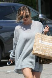 Kaley Cuoco Leaves a Hair Salon in Los Angeles - April 2014