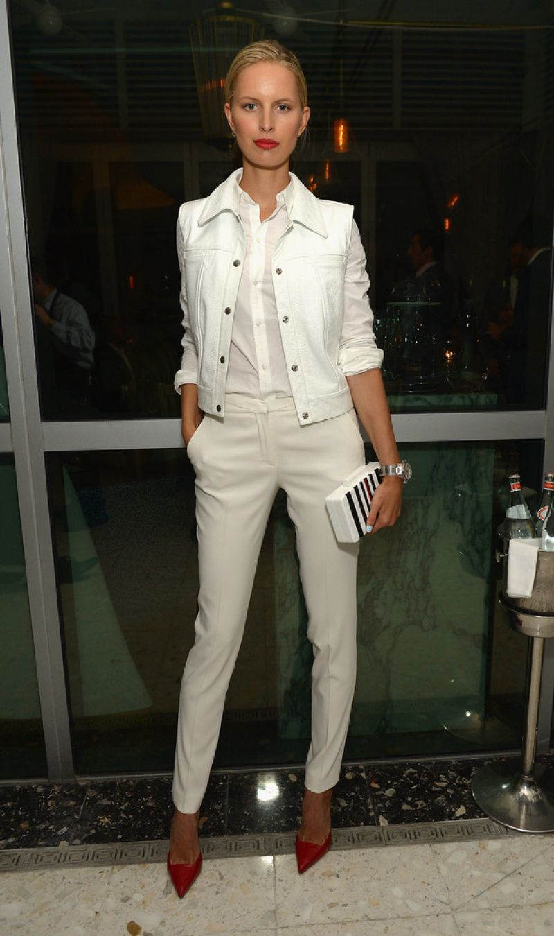 Karolina Kurkova - Haute Living Honors Mark & Rhea Burnett in Miami Beach - April 2014
