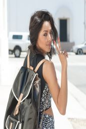 Kat Graham Street Style - Los Angeles April 2014
