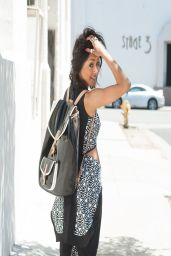 Kat Graham Street Style - Los Angeles April 2014
