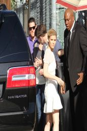 Kate Mara - Arrives to Tape an Episode of Jimmy Kimmel Live! in Hollywood - April 2014