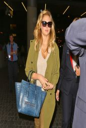 Kate Upton at LAX Airport - April 2014
