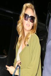 Kate Upton at LAX Airport - April 2014