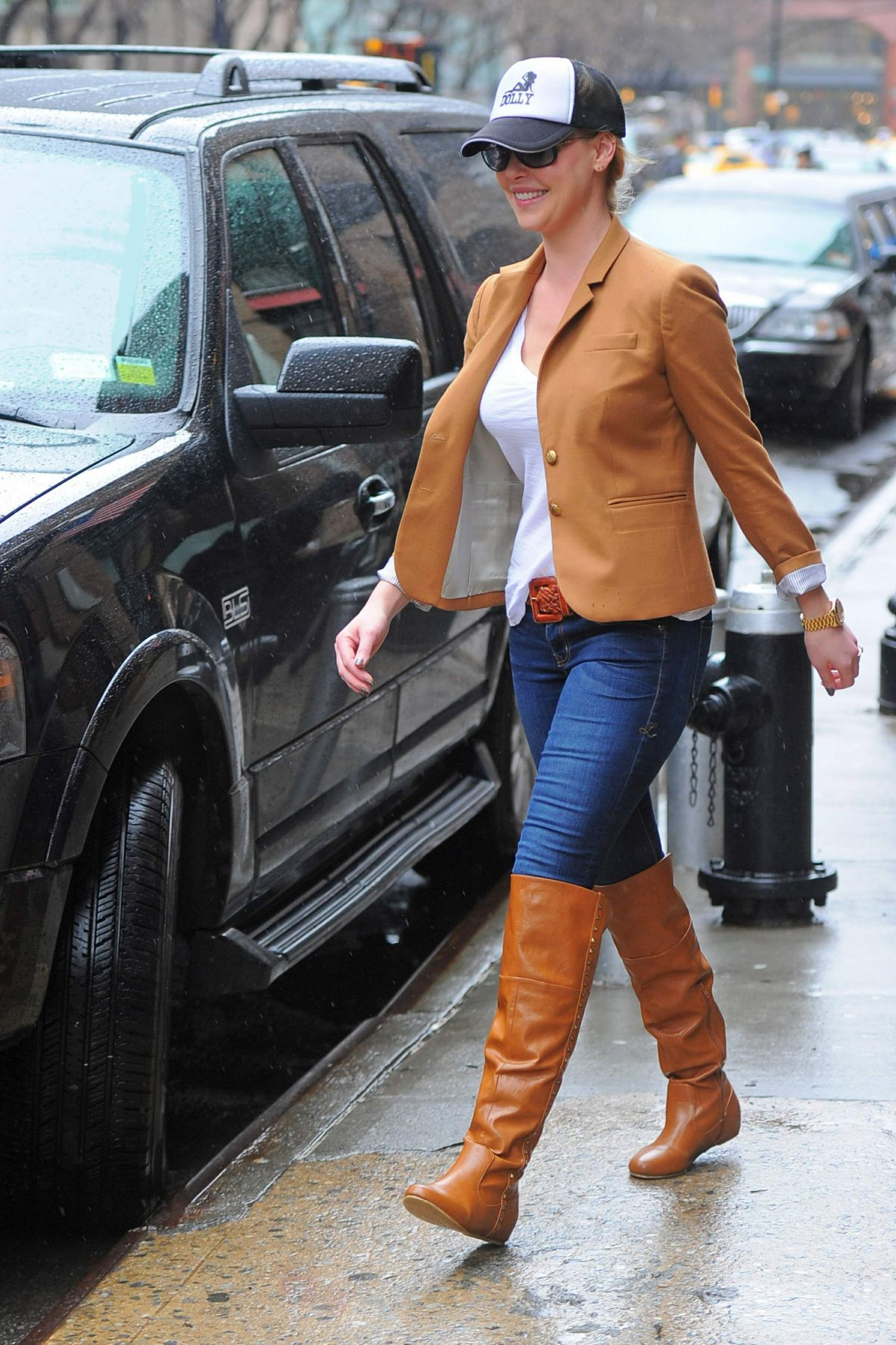 Katherine Heigl In Boots Amp Jeans Out In New York City