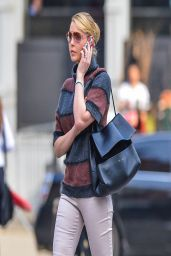 Katherine Heigl Street Style - Out in NYC - April 2014