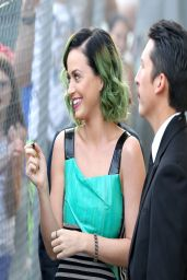Katy Perry – Arriving at 'Jimmy Kimmel Live!' – April 2014