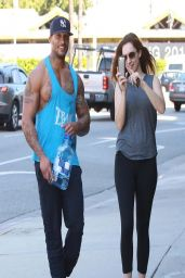 Kelly Brook - Leaves the Gym in West Hollywood - April 2014