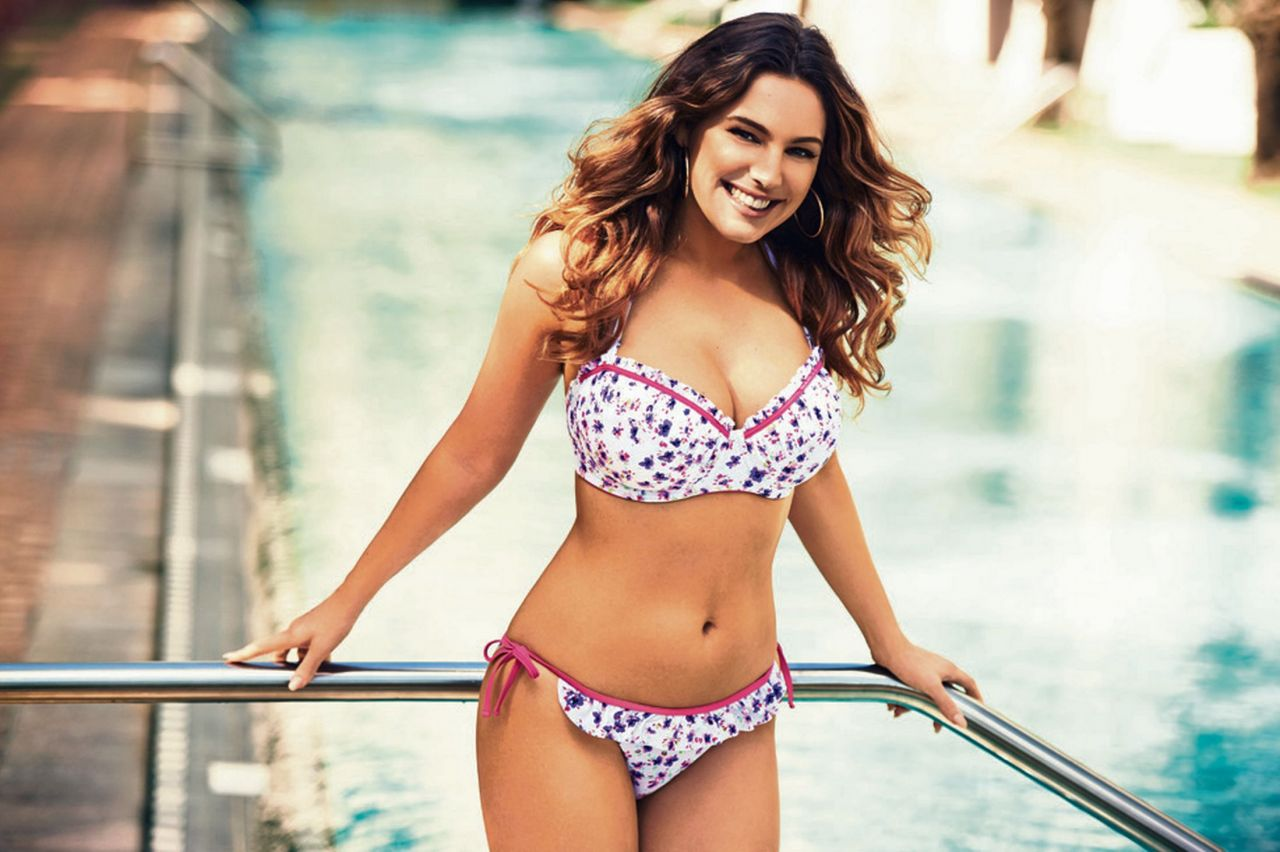 Kelly Brook - New Look Swimwear Photoshoot - April 2014