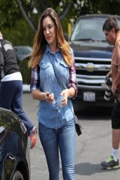 Kelly Brook - Shopping in Fred Segal in West Hollywood - April 2014
