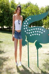 Kendall Jenner - LACOSTE Beautiful Desert Pool Party - April 2014