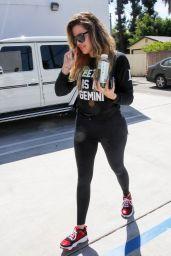 Khloe Kardashian Shops at Restoration Hardware - April 2014