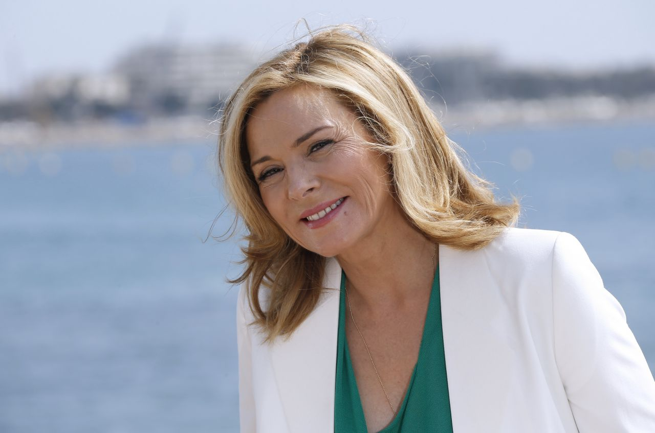 Kim Cattrall on the Fr... Kim Cattrall