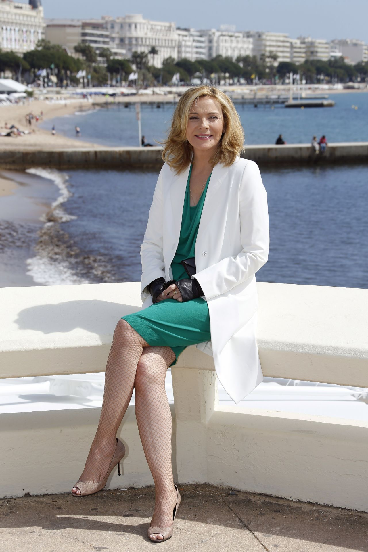 Kim Cattrall On The French Riviera Sensitive Skin