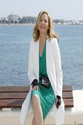 Kim Cattrall on the French Riviera -