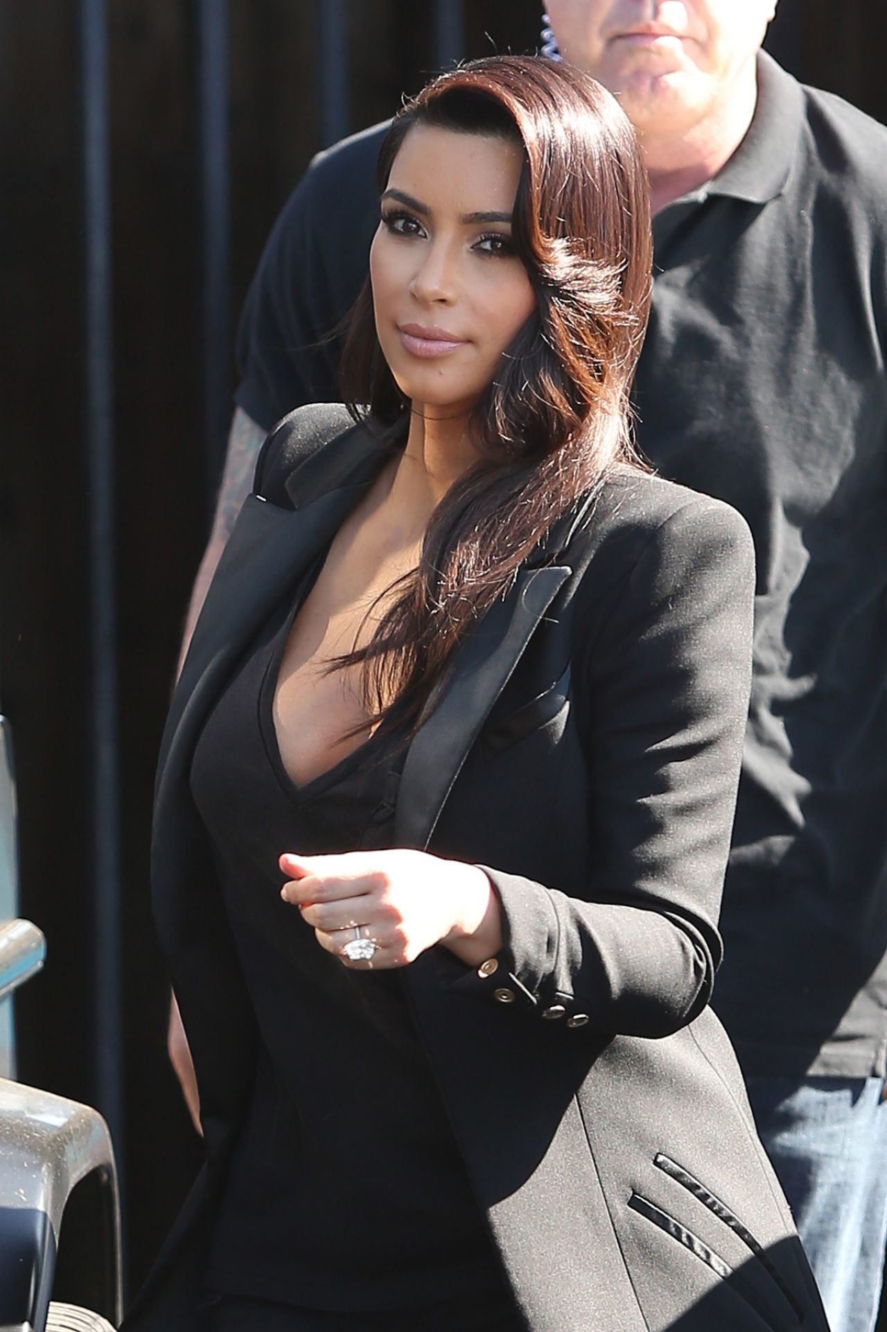 Kim Kardashian - Leaving a Studio in Los Angeles - April 2014