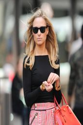 Kimberley Garner Leggy - Out on the Kings Road London - April 2014