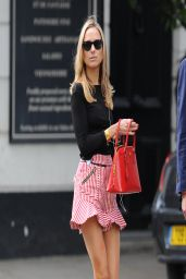 Kimberley Garner Leggy - Out on the Kings Road London - April 2014