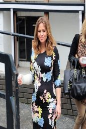 Kimberley Walsh - Outside Loose Women Studio, London - April 2014
