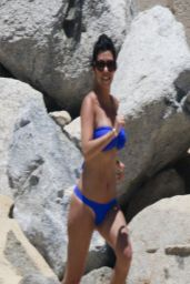 Kourtney Kardashian Bikini Candids - Mexico, April 2014