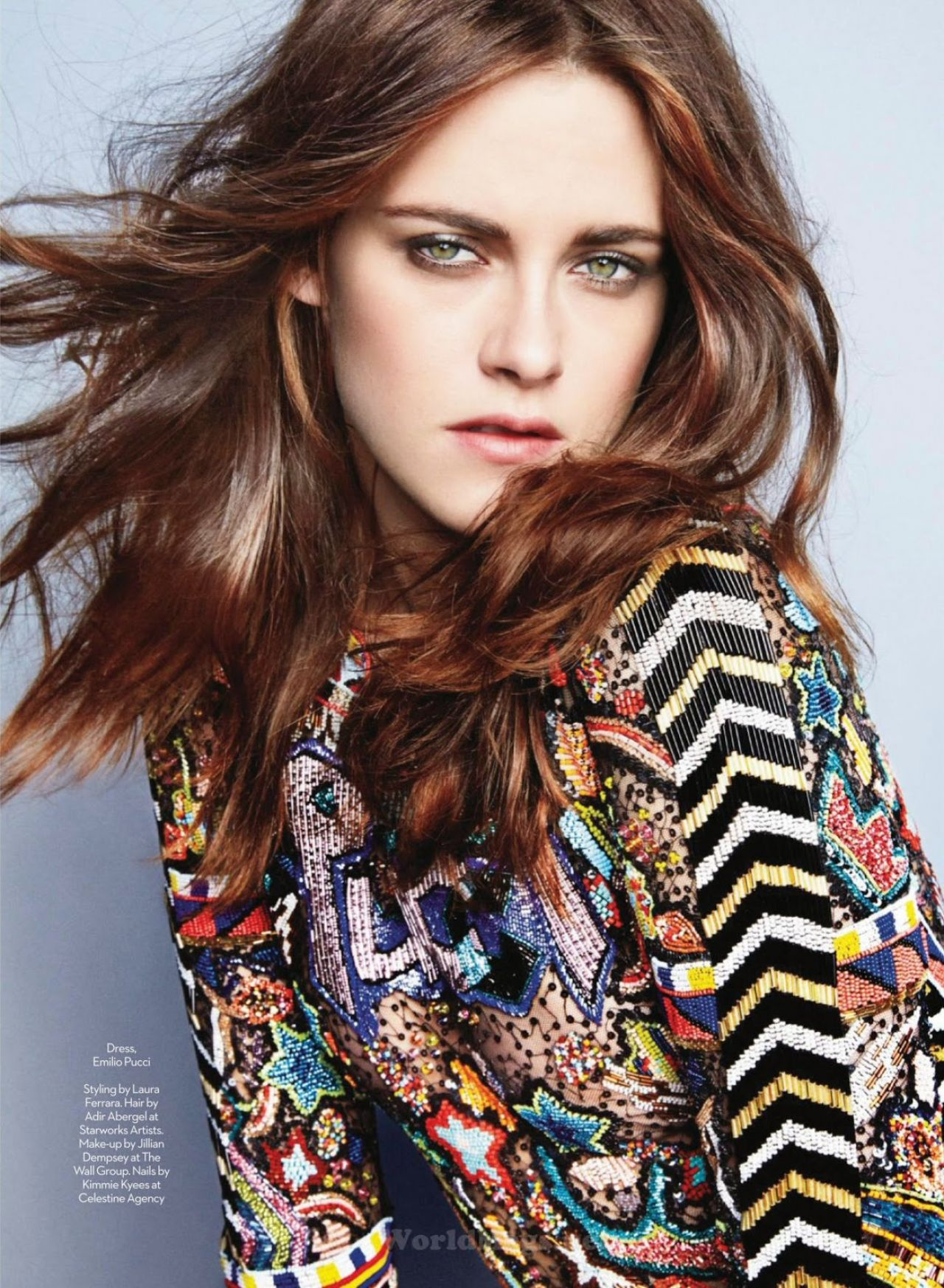 Kristen Stewart - Marie Claire Magazine (UK) May 2014 Issue