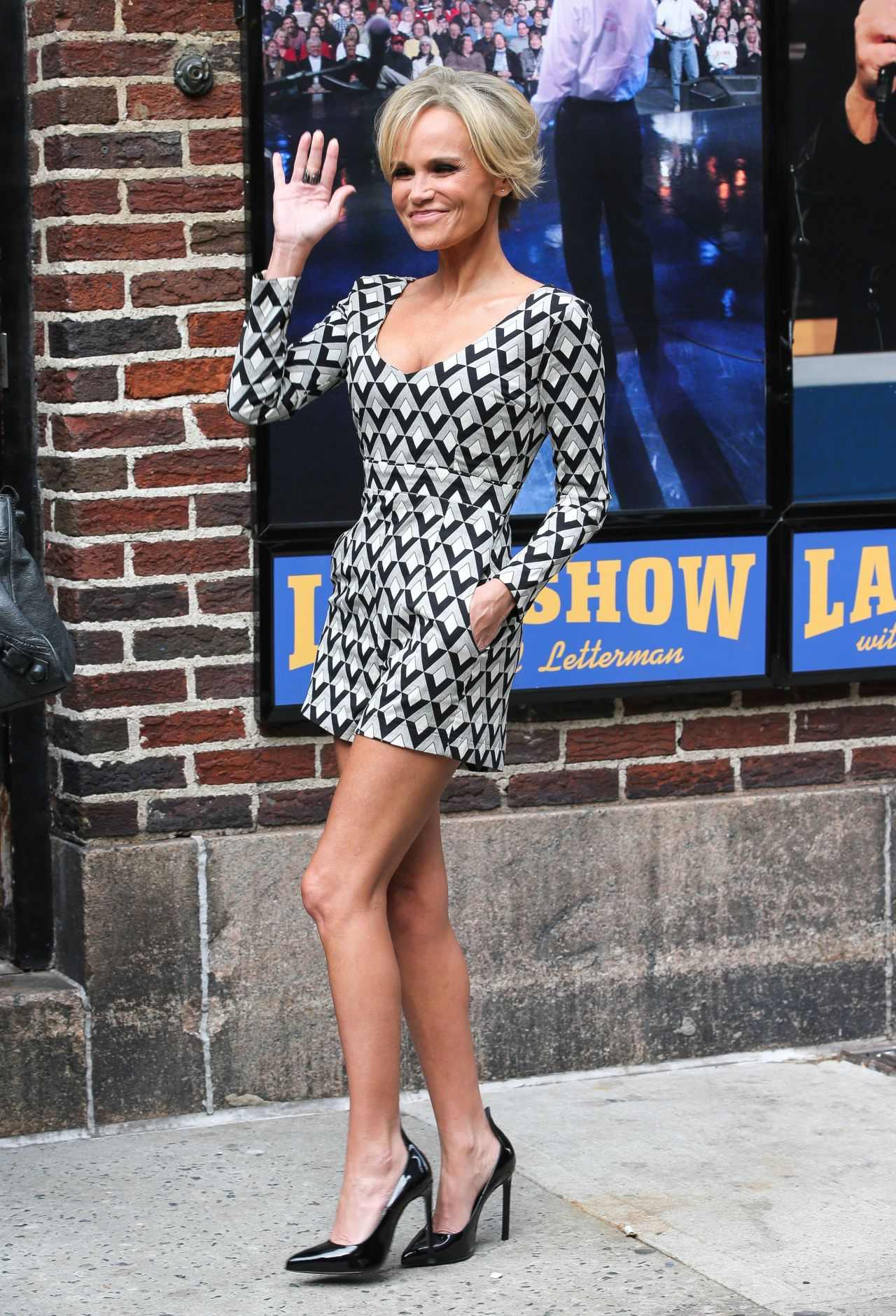 Kristin Chenoweth - After David Letterman Show in New York City - April 2014
