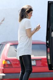 Kylie Jenner Getting Gas in West Hollywood - April 2014