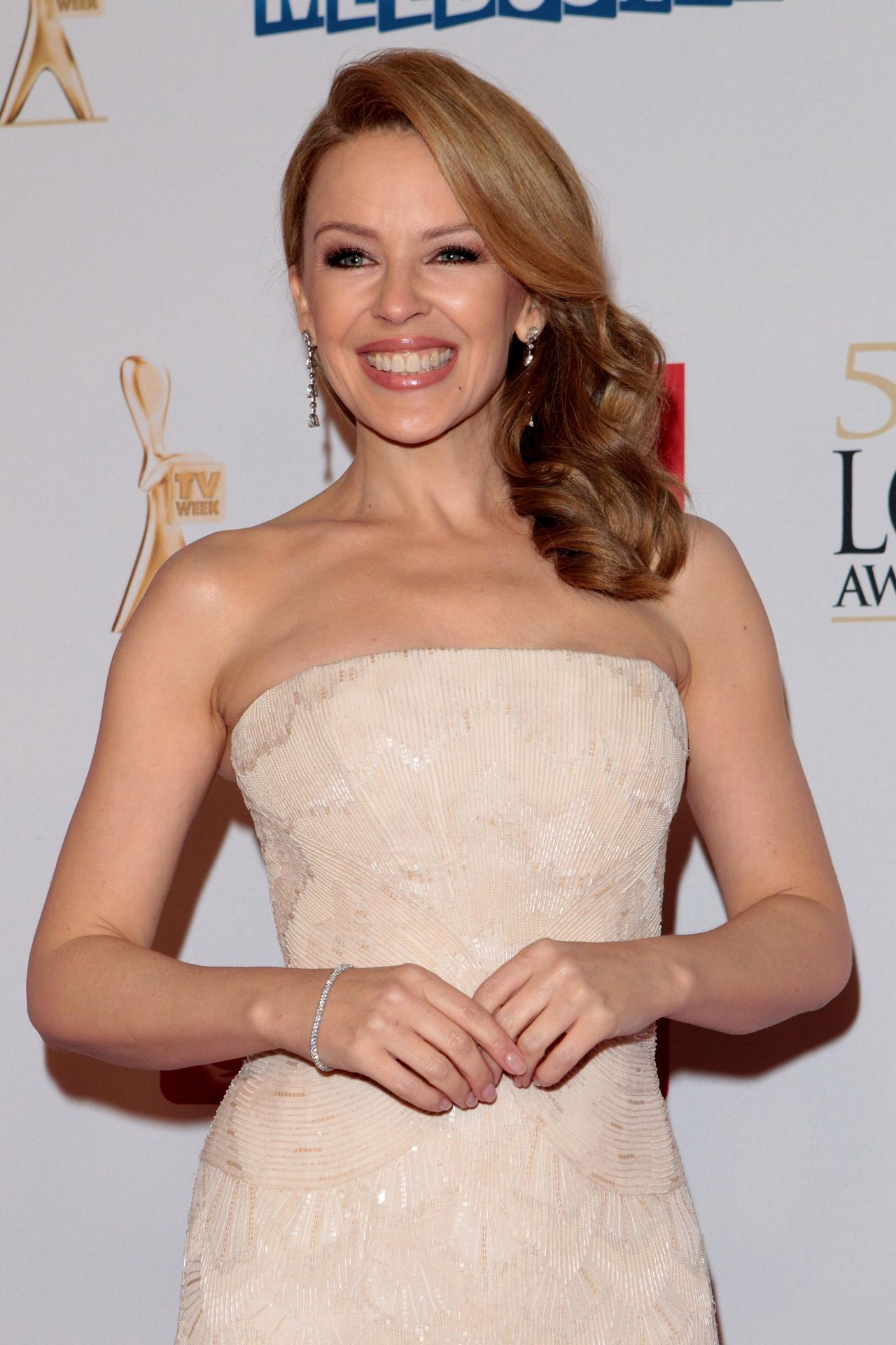 Kylie Minogue Gives Superfan Pricelesssurprises As She: 2014 Logie Awards In Melbourne (Australia