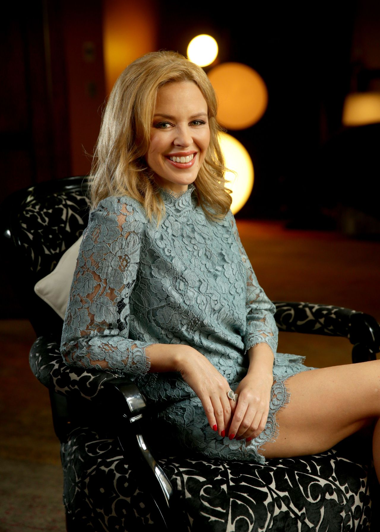 Kylie Minogue - Photoshoot at the QT Hotel in Sydney, Australia - April 2014