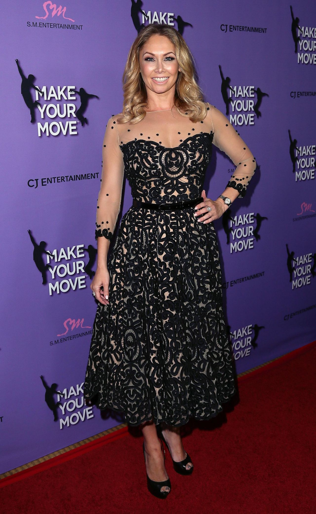 Kym Johnson Make Your Move Premiere In Los Angeles