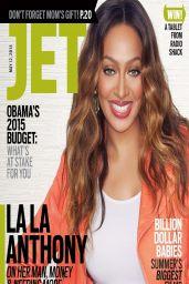 La La Anthony (Vasquez) - Jet Magazine May 12, 2014 Issue