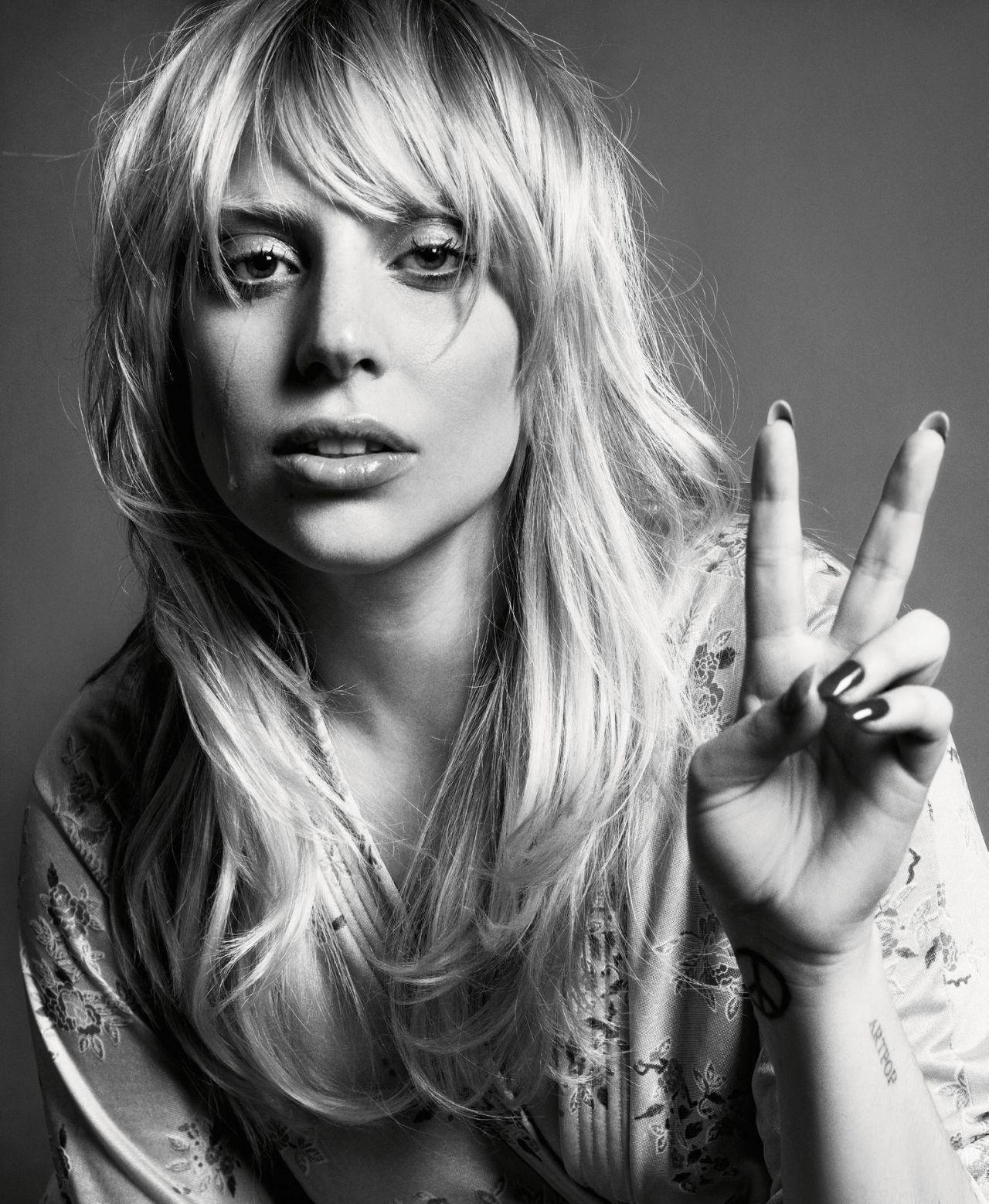 Lady Gaga Porter Magazine Summer 2014