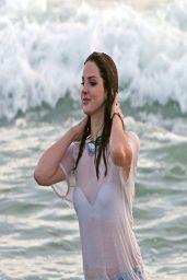 Lana Del Rey - Shooting a Music video in Marina Del Rey - April 2014
