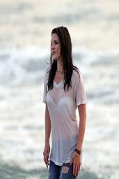 Lana Del Rey - Shooting a Music video in Marina Del Rey - April 2014