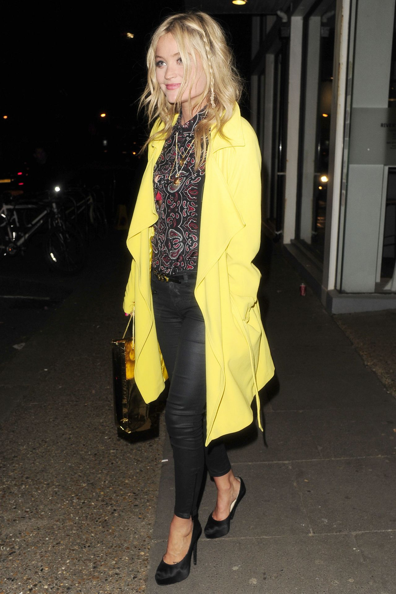 Laura Whitmore - Riverside Studios in London - April 2014