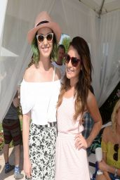 Lea Michele - LACOSTE Beautiful Desert Pool Party at Coachella - April 2014