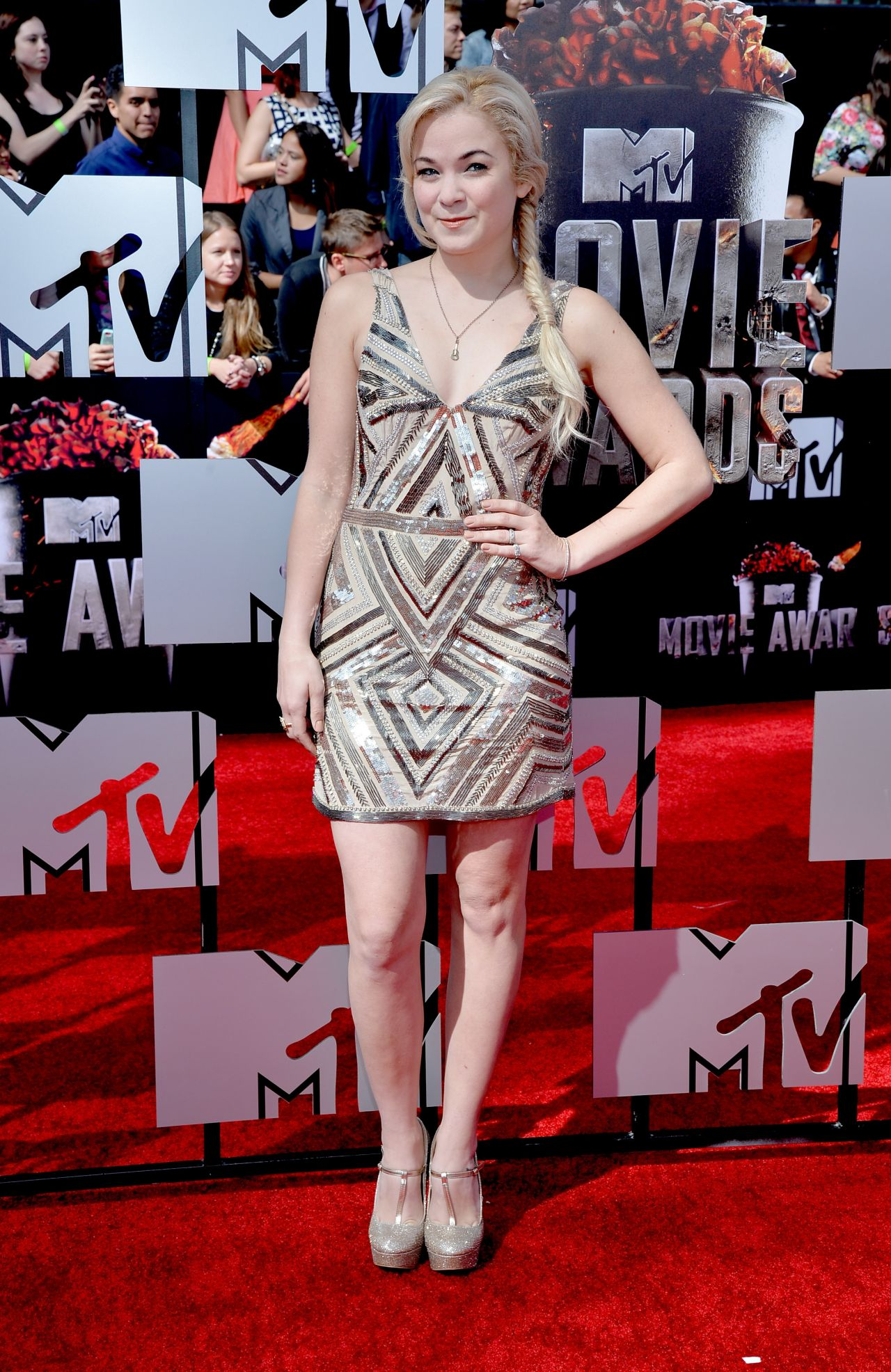 Lenay Dunn - 2014 MTV Movie Awards
