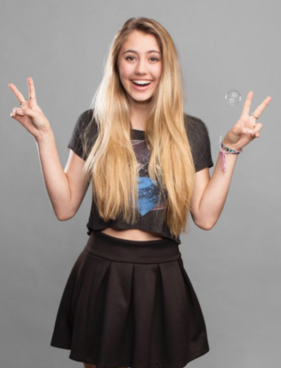 Lia Marie Johnson - Adweek Magazine March 2014 Issue