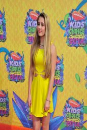Lia Marie Johnson - Nickelodeon's Kids' Choice Awards 2014