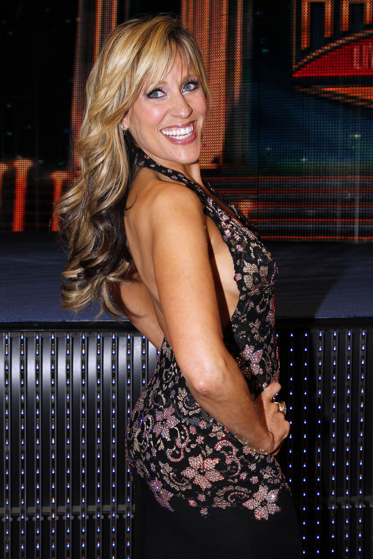 Lilian Garcia - WWE Hall of Fame Induction Ceremony - April 2014