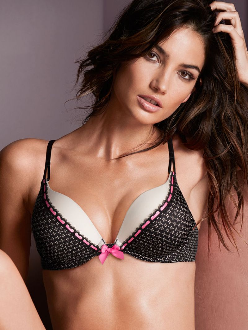 Lily Aldridge Victoria S Secret Collection April 2014