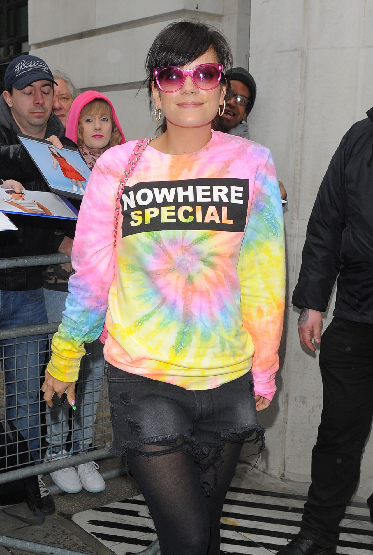 Lily Allen - BBC Radio 2 Studios in London - April 2014