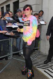 Lily Allen - BBC Radio 2 Studios in London - April 2014