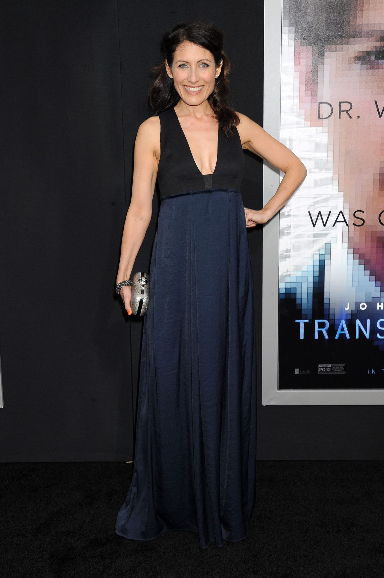 Lisa Edelstein Transcendence Premiere In Los Angeles
