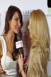 Lizzie Cundy - Pia Michi Catwalk Show in London – March 2014
