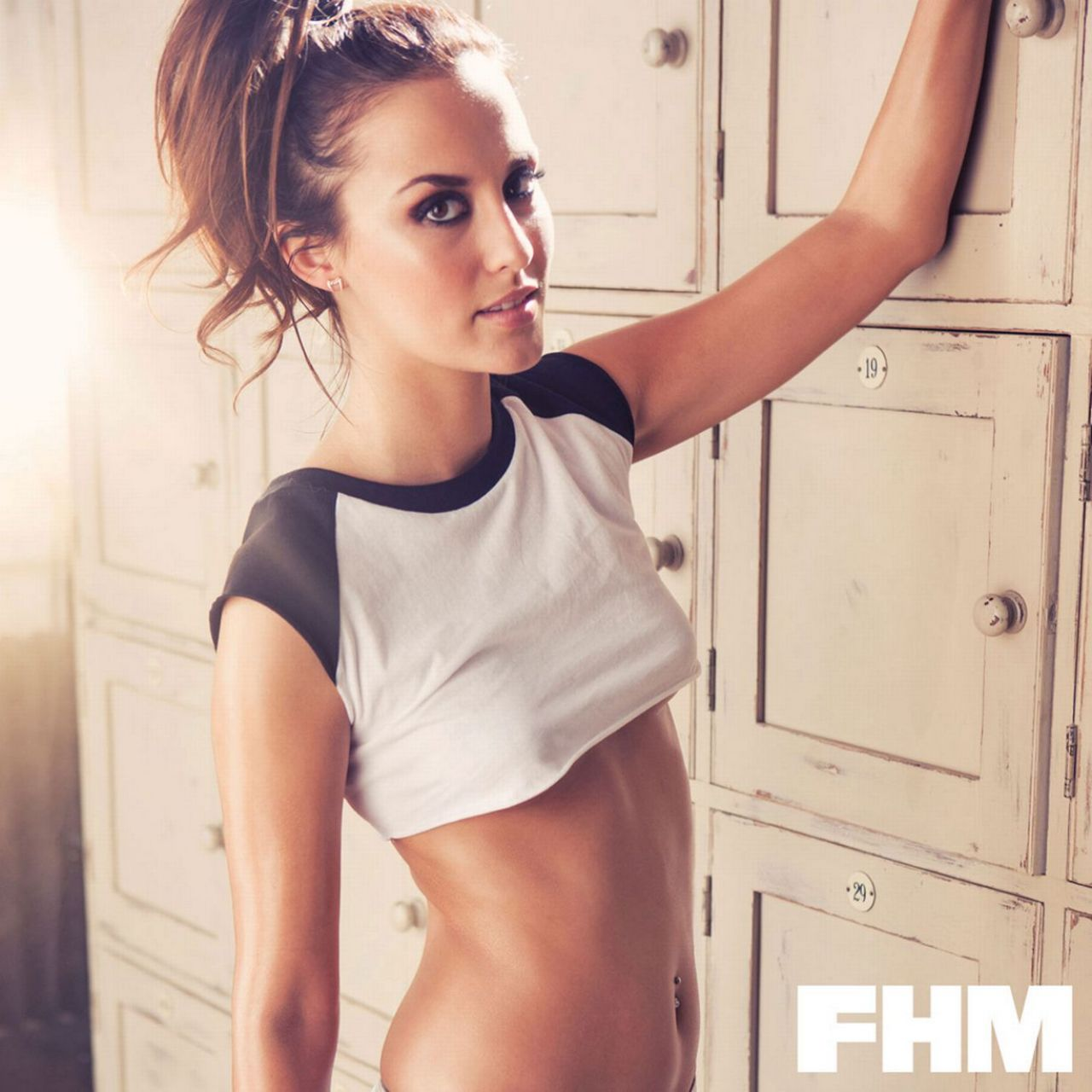 Lucy watson fhm magazine uk may 2014 issue